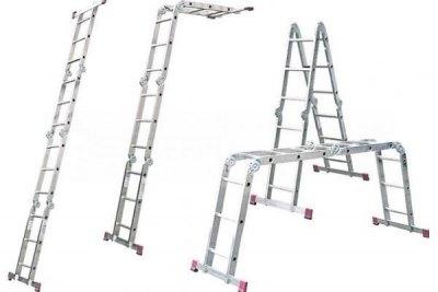 Сборное лестничное сооружение на 4 секции