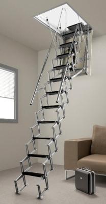 Лестничная установка для чердака Факро