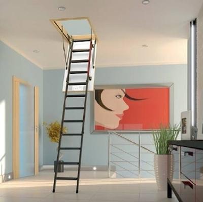 Лестница с люком Факро