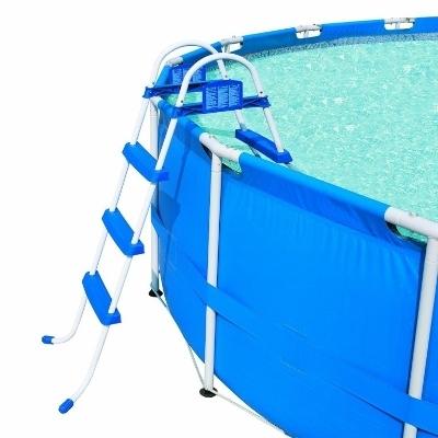 Двухсторонная лестница для каркасного бассейна