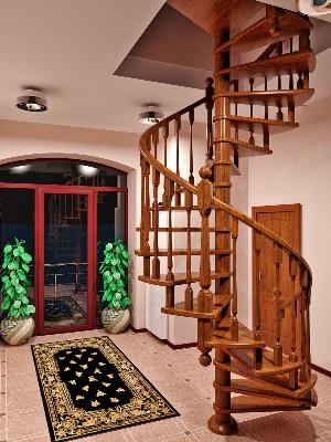 Винтовой тип деревянной конструкции