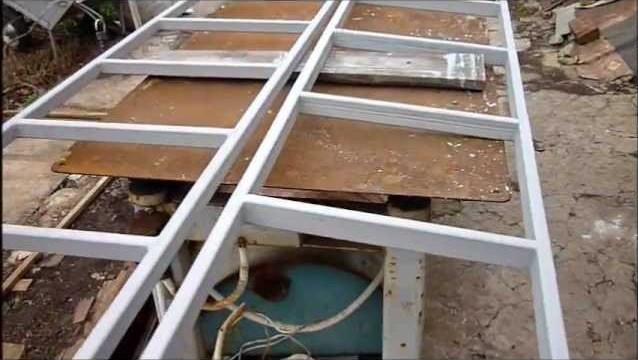 Лестница приставная из профильной трубы своими руками
