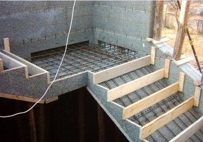 Сооружение на второй этаж
