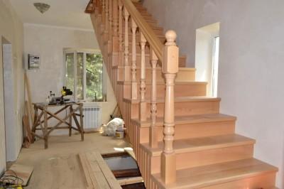 Маршевая деревянная конструкция