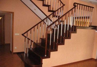 Комбинированный вид лестничного сооружения