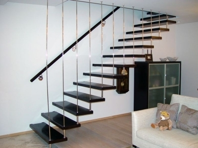 Сборная лестница одномаршевая