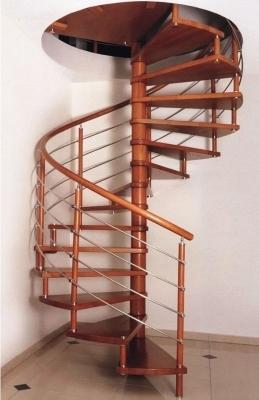Винтовая сборная лестница