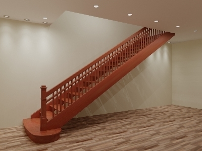 Прямомаршевая лестница
