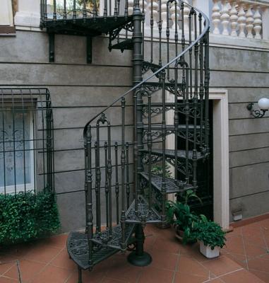 Лестница для входа с улицы