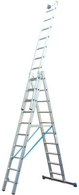 Лестница из трех секций