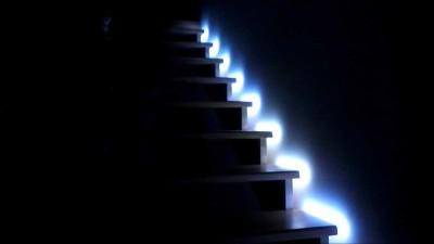 Пример удобного бокового освещения светодиодами