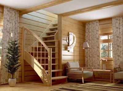 Небольшая лестница для гостиной