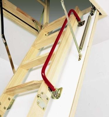 Размещение лестницы для чердака