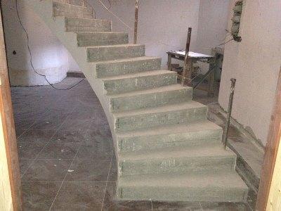 Готовая спиральная лестница