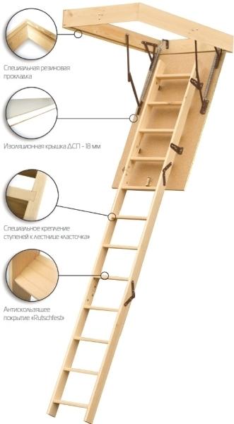 Лестничная конструкция с люком