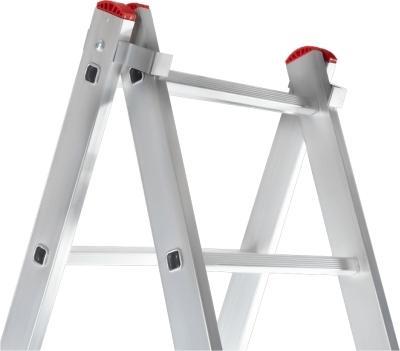 Универсальная лестничная установка на две секции