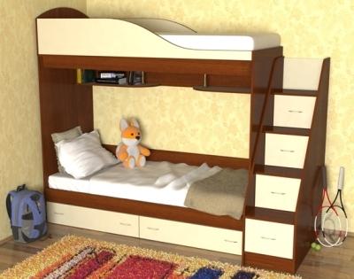 Наклонные ступени для кровати