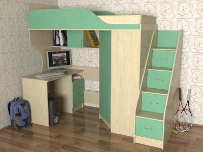 Компактные ступени для спального места