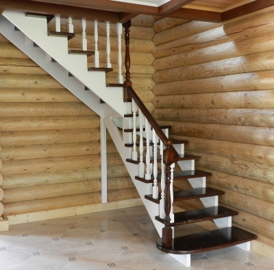 Древесина для создания лестничного сооружения