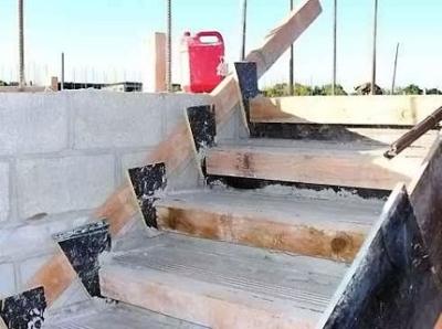 Установка ступенек из бетона