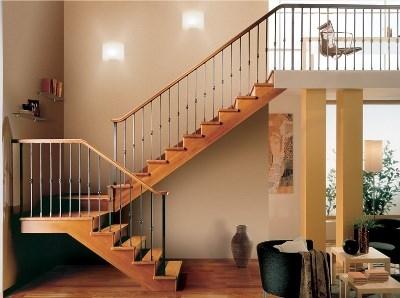 Маршевая П-образная лестница
