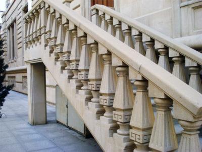 Оформление каменной лестницы: такой вариант можно сделать из бетона
